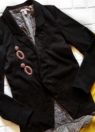 Удлененный пиджак divided