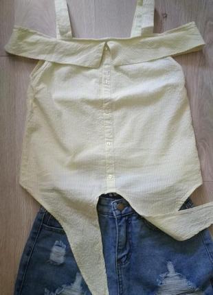 Продам комплектом:топ new look и стильные шорты с завышенной талией