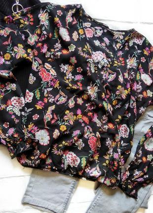 Блуза на запах с цветочным принтом 🌺 tezenis
