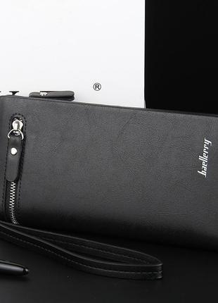 Мужской кошелек портмоне baellerry italia (003) черный