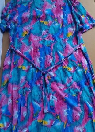 Платье халат большой размер6 фото