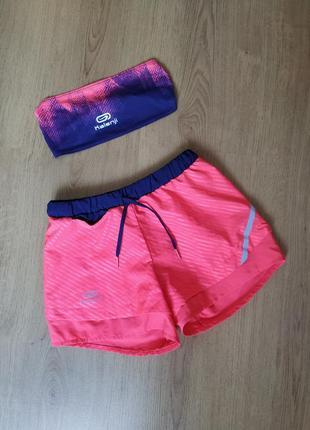 Лёгкие спортивные шорты с повязкой  от kalenji