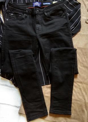 Черные skinny со средней посадкой😎 crocker