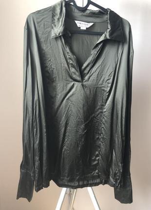 Marina rinaldi шовкова сорочка