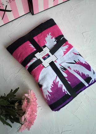 Полотенце victoria's secret оригинал, пляжное полотенце покрывало виктория сикрет