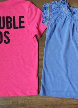 Комплект набор футболок футболочек на 2-3 года