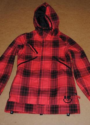 Burton женская горнолыжная куртка яркая