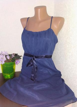 Элегантное шифоновое платье.