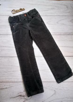 Вельветовые брюки скини