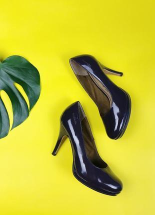 Туфли на каблуке туфли на шпильке кожаные туфли