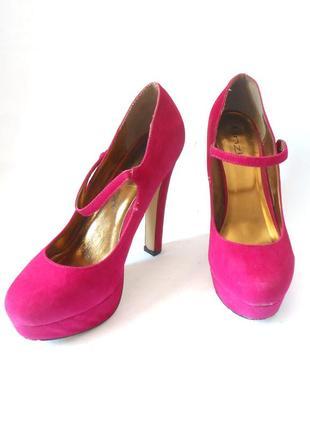 Яркие фирменные туфли linzi, р.42 код k4201
