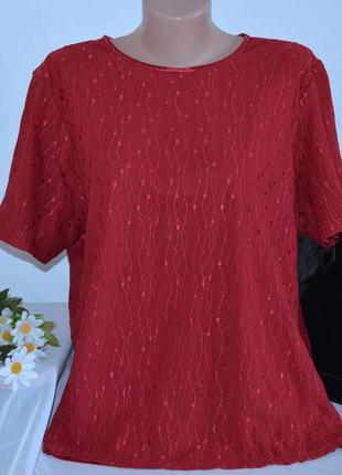 Брендовая красная блуза bonmarche шри ланка нейлон большой размер