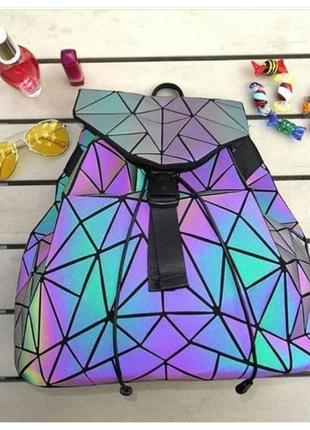 Голографический рюкзак баобао, baobao  (bao bao, бао бао)