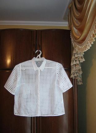 Рубашка next, 100% хлопок прошва, размер 14/42