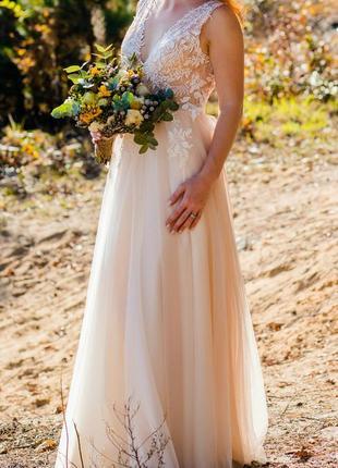 Весільна сукня/свадебное платье. фата в подарунок!