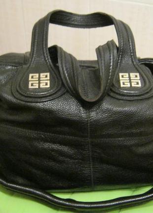 Givenchy.франция. нат. кожа. сумка шоппер!дешево!2 фото