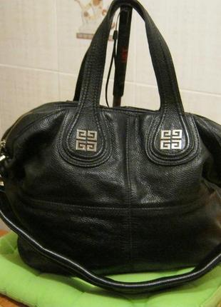 Givenchy.франция. нат. кожа. сумка шоппер!дешево!1 фото