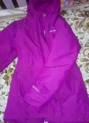 Удлиненная куртка columbia 116(+6)