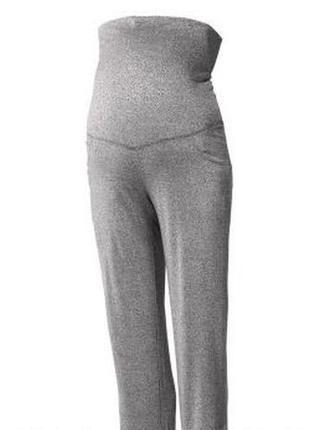Трикотажные брюки / одежда для беременных / спортивные / esmara