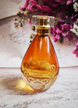 Avon парфюм christian lacroix ambre for her