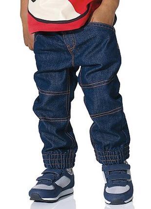 Новые джинсы на резинке kiabi размер 4 на рост 98-104 пролет