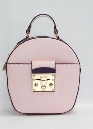 Стильная женская сумочка италия натуральная кожа