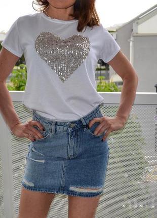 Юбка джинс италия
