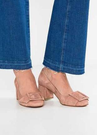 Замшевые туфли helia, разм. 35