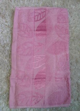 Полотенце лицевое бамбуковое