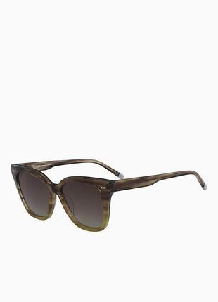 Винтажные квадратные солнцезащитные очки келвин кляйн