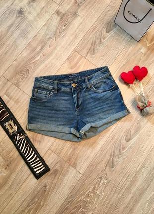 Стильные джинсовые шорты с фламинго от германского бренда esmara