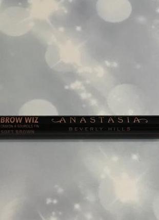 Abh brow wiz, soft brown олівець для брів
