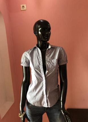 Рубашка zara, размер xs-s
