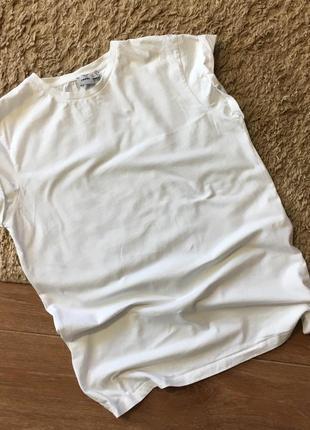 Белая базовая футболка asos