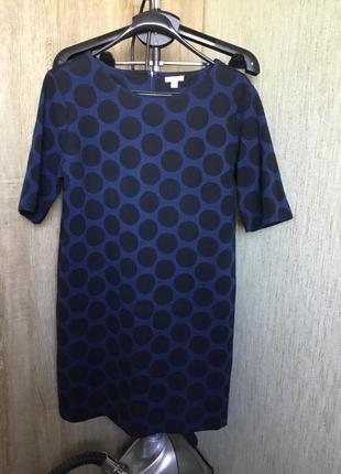 Стильное платье в горох от дорогого бренда gap