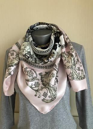 Шелковый платок,  как hermès