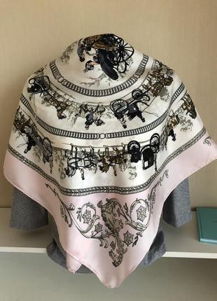 Шелковый платок,  как hermès2 фото