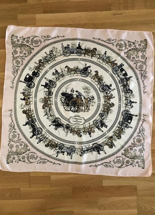 Шелковый платок,  как hermès3 фото