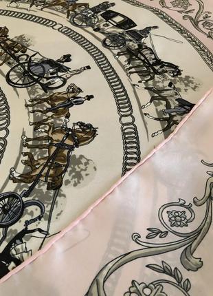 Шелковый платок,  как hermès4 фото