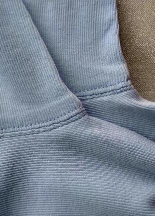 Спортивный светло-голубой топ футболка, рукав 1/2 р. m/l - нюанс, от marc cain sports5 фото