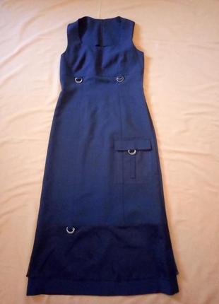 Распродажа!  черное платье с отделкой сеточкой4 фото