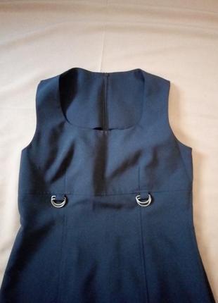 Распродажа!  черное платье с отделкой сеточкой6 фото