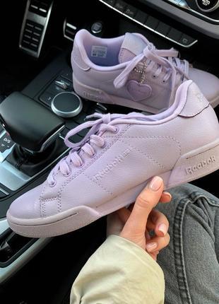 Шикарные женские кроссовки reebok violet  😍 (весна/ лето/ осень)