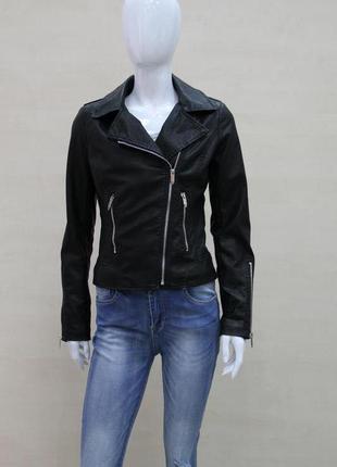 Куртка женская,кожаная glo-story