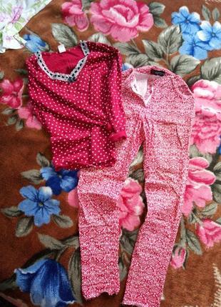 Комплект летние штаны и кофта
