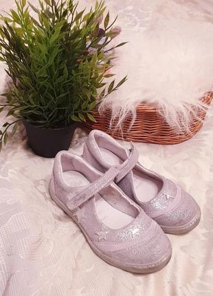 Брендовые летние туфли р 29 натур кожа primigi