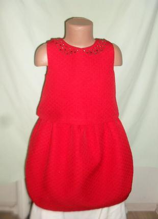 Нарядное стильное платье на 8лет