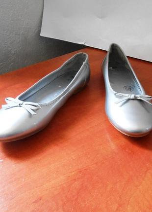 Фирменные балетки / туфли на низком ходу marks & spencer, р-р 38 код t3809
