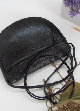 Компактная сумка, натуральная кожа, англия.3 фото