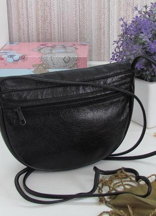 Компактная сумка, натуральная кожа, англия.2 фото